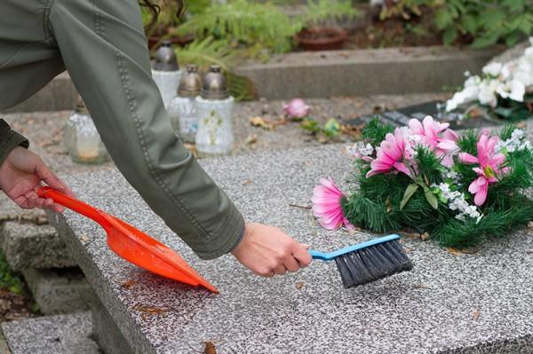 Travaux de cimetières